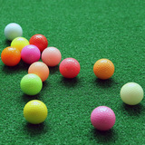 2 Layers surlyn golf colored ball 392 Dimples with good quality